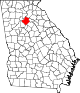 80px-Map_of_Georgia_highlighting_Gwinnett_County.svg