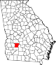 80px-Map_of_Georgia_highlighting_Lee_County.svg