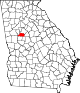 80px-Map_of_Georgia_highlighting_Spalding_County.svg