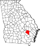 80px-Map_of_Georgia_highlighting_Appling_County.svg